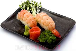 Blanched Vannamei Sushi